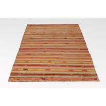 Turkish Kelim striped rug
