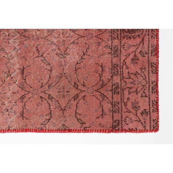 Pink patchwork weave Kelim rug image