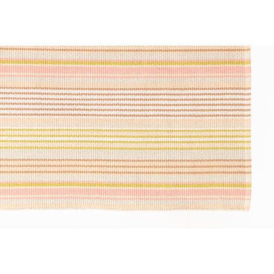 Neopolitan striped woven runner image