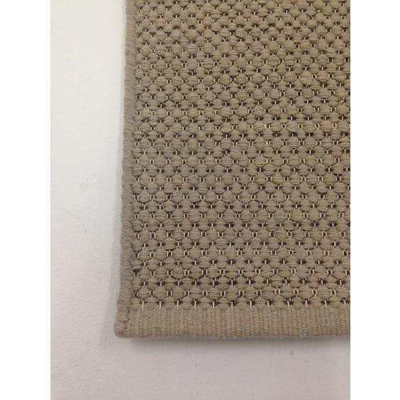 Limestone loop wool rug image