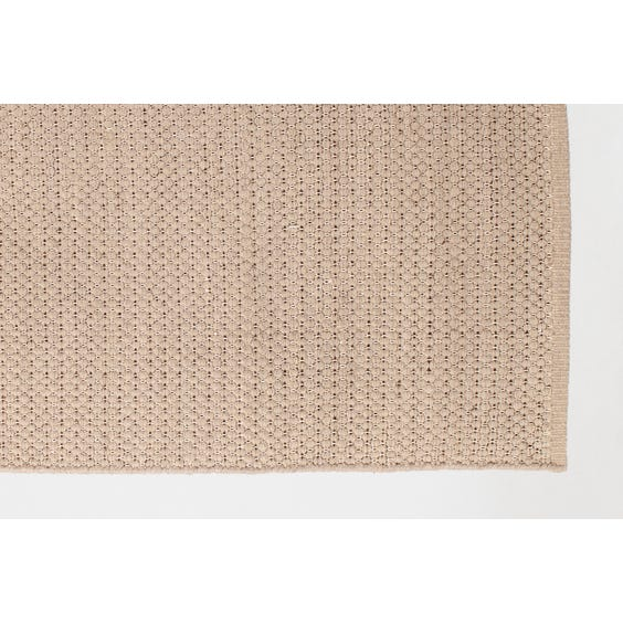 Large limestone loop wool rug image