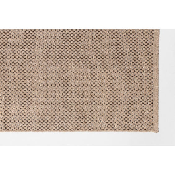 Granite honeycomb loop wool rug image