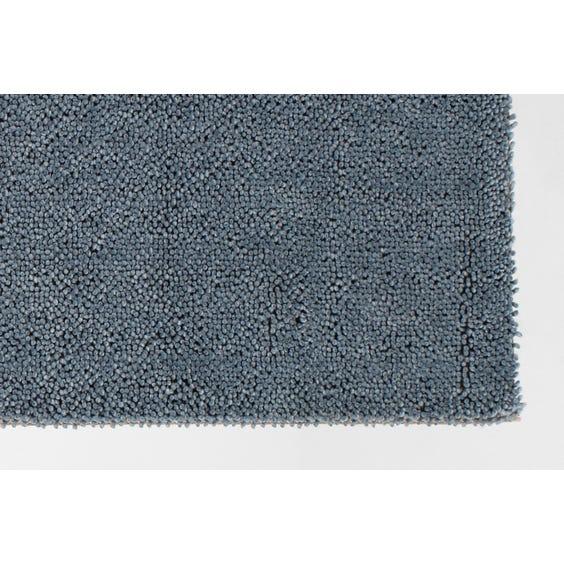Soft blue bobble textured rug image