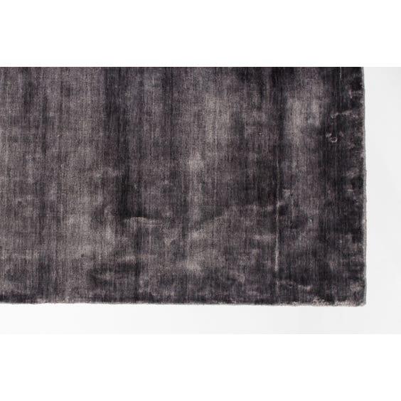 Slate grey sheen rug image