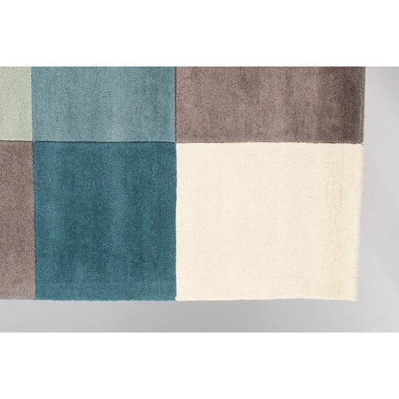 Modern multi sectioned rug image