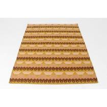 Modern tribal flat weave rug