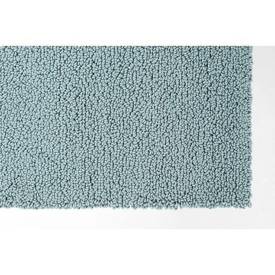 Blue chunky loop rug image