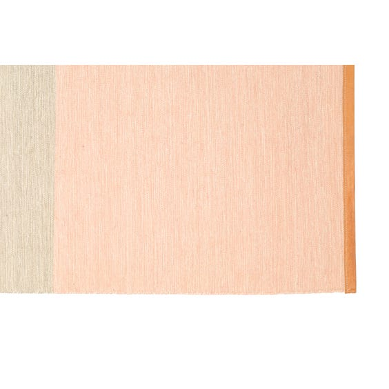 Pink putty and blue rug image