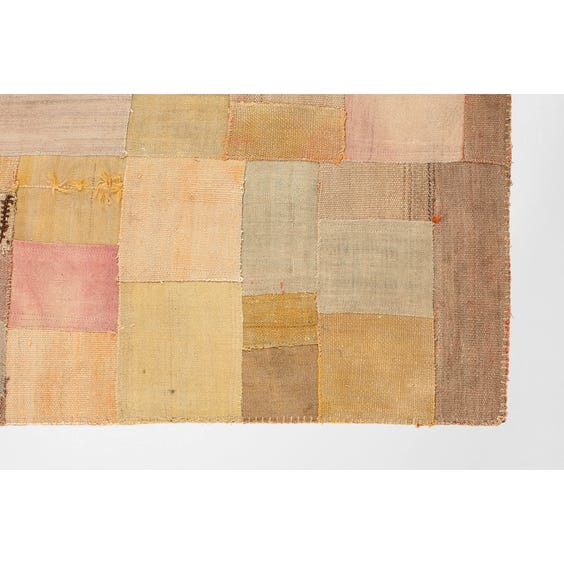 Large Turkish patchwork rug image