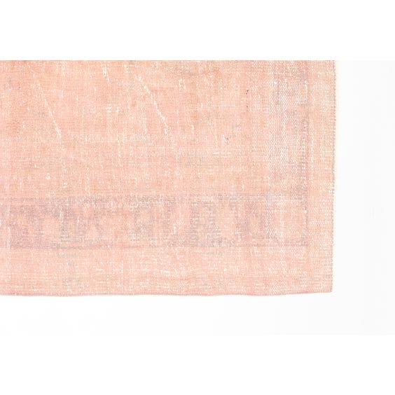 Dusty pink Turkish rug image