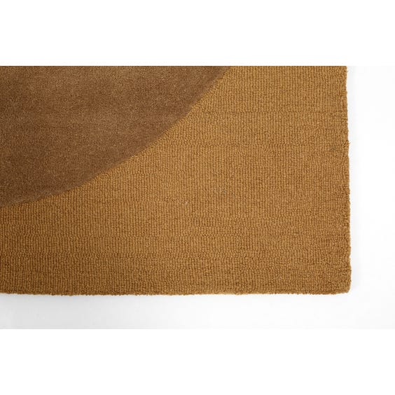 Modern biscuit abstract rug image