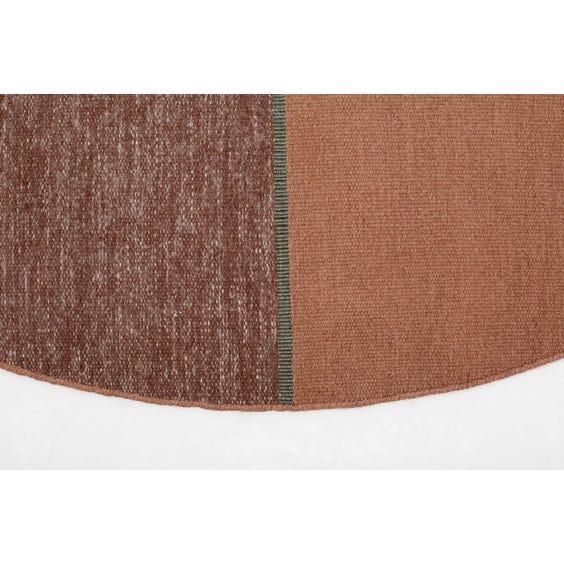 Modern split circular pink rug image