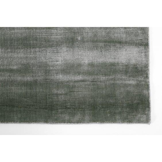 Green grey sheen rug image