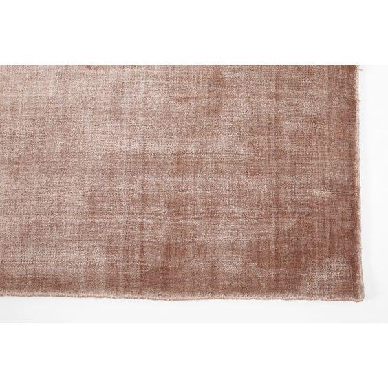 Dusky pink rug image