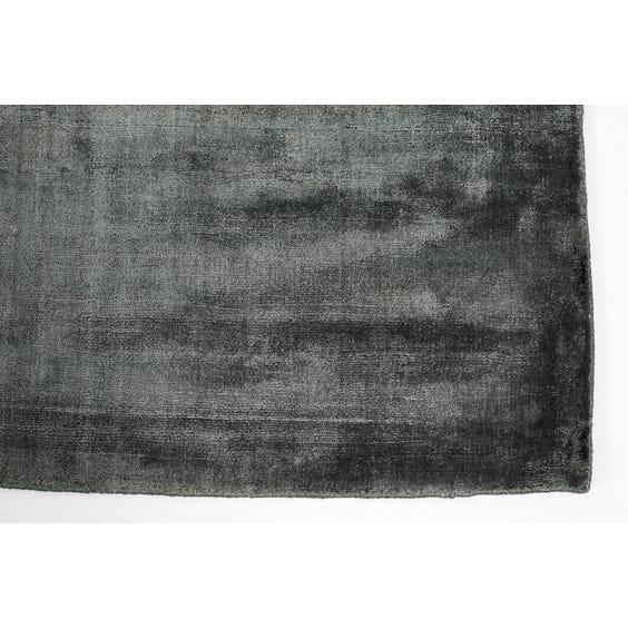 Muted petrol blue rug image