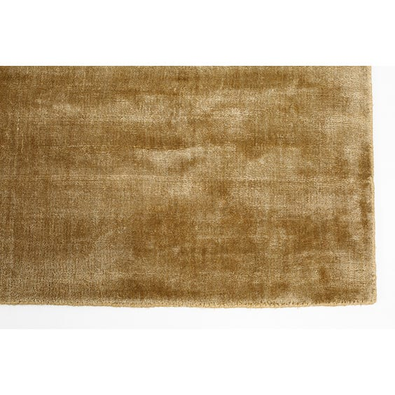 Muted gold sheen rug  image