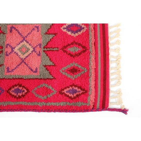 Modern Beni Ouarain style rug image