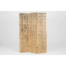 Gold pressed metal screen