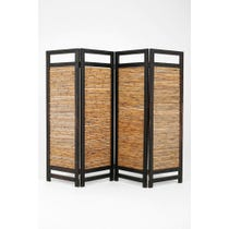 Midcentury French bamboo screen
