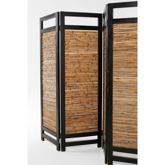 Midcentury French bamboo screen image