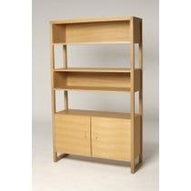Large modern solid oak dresser
