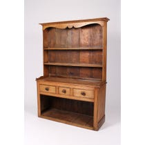 Traditional Cornish pine dresser