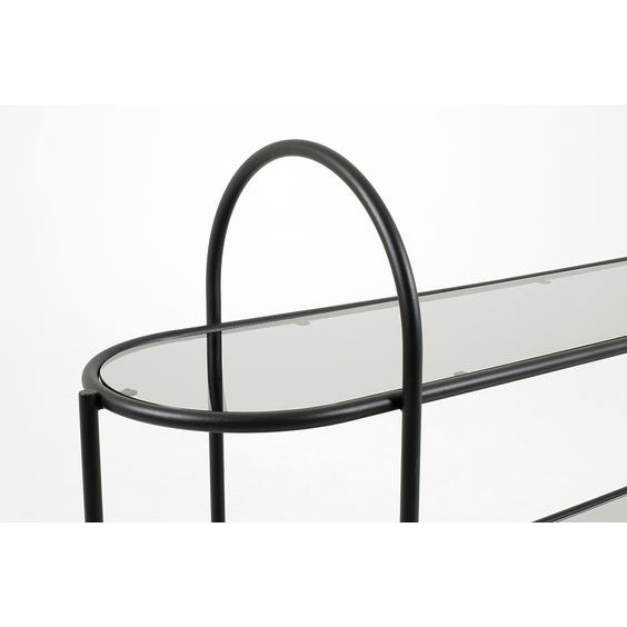 Modern lozenge shelving unit image