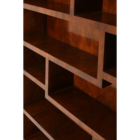 French burr walnut bookshelf  image