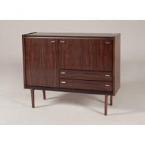 Vintage rosewood drinks cabinet