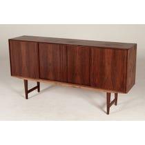 Large vintage rosewood sideboard