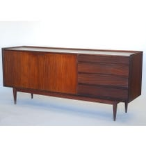 Large vintage teak sideboard