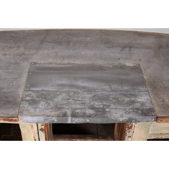 Antique French zinc topped bar image