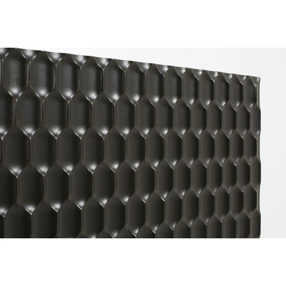 Modern ebonised honeycomb sideboard image