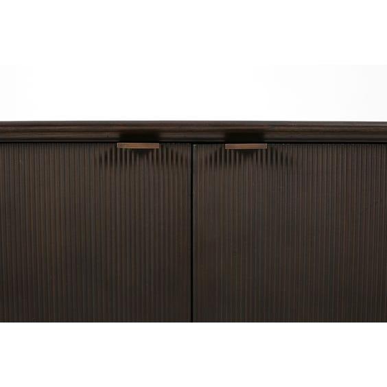 Modern darkwood sideboard  image