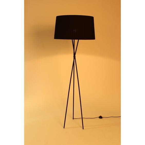 Black tripod floor lamp image