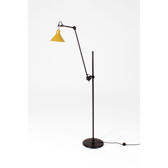 1950s Lampe Gras yellow lamp image