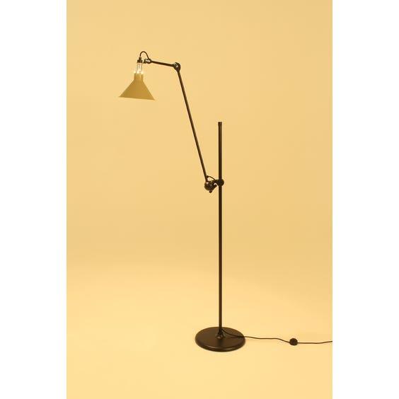 1950s Lampe Gras yellow lamp image