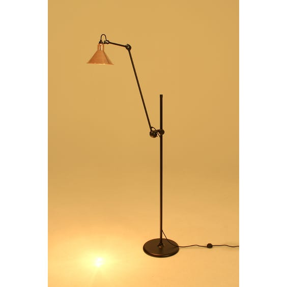 1950s Lampe Gras copper lamp image