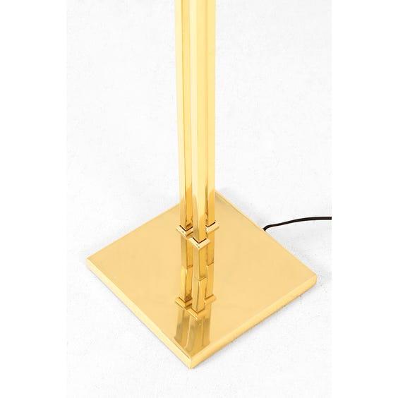 Brass three head fan lamp image
