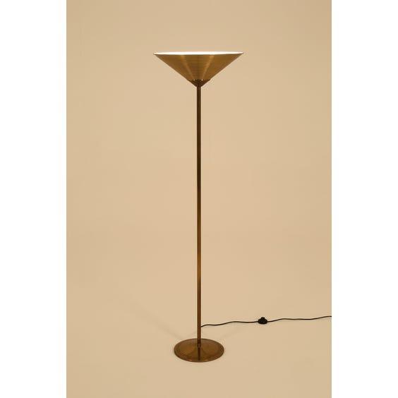 1970's Italian brass standard lamp image