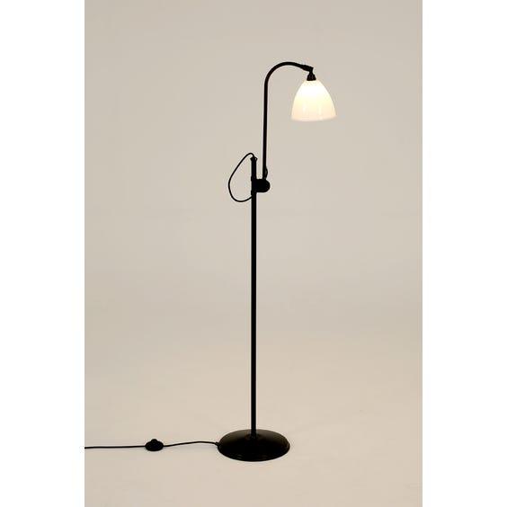 Blackened bronze Bestlite standard lamp image