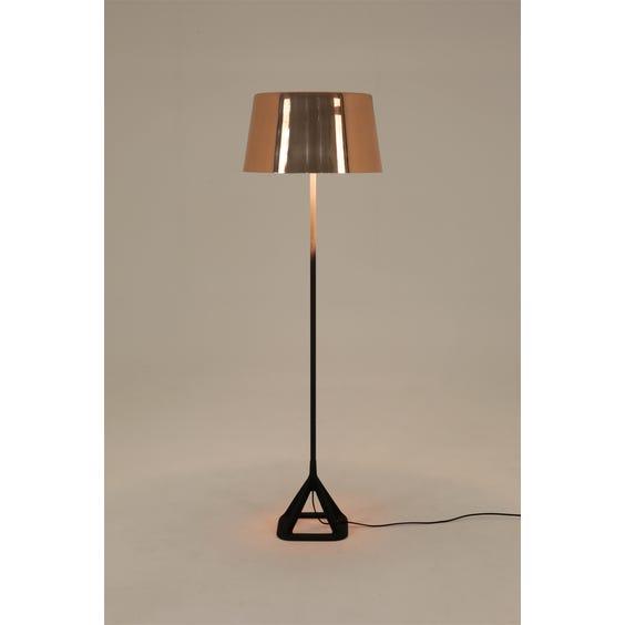 Polished copper standard lamp image
