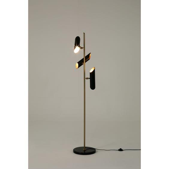 Midcentury three head standard lamp image