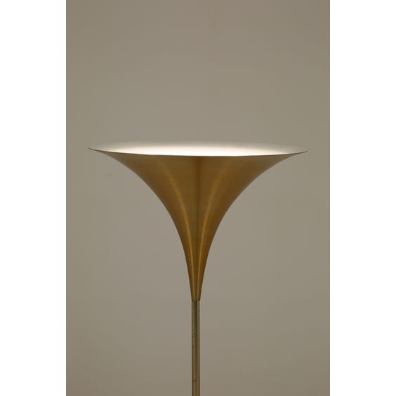 Midcentury Italian flared standard lamp image