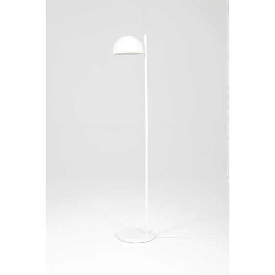 Postmodern white dome standard lamp image