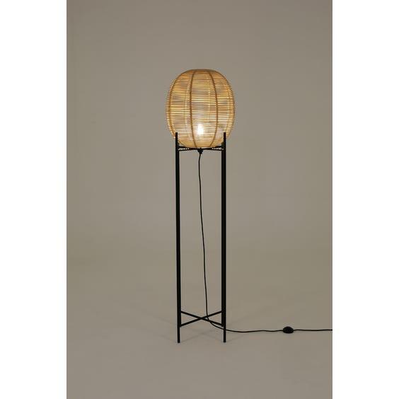 Large rattan egg lamp image