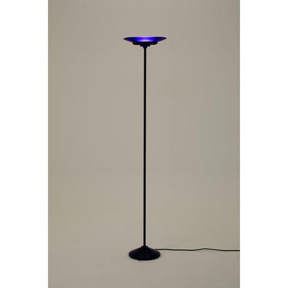Postmodern cobalt blue standard lamp image
