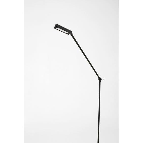 Modern black angular floor lamp  image