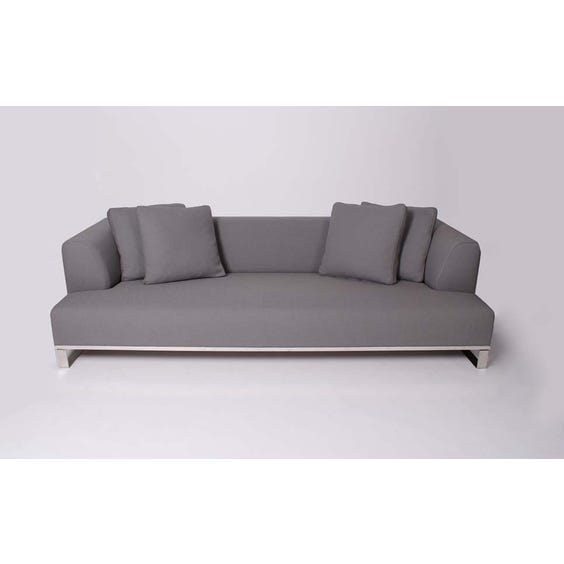 B&B Italia grey wool sofa image
