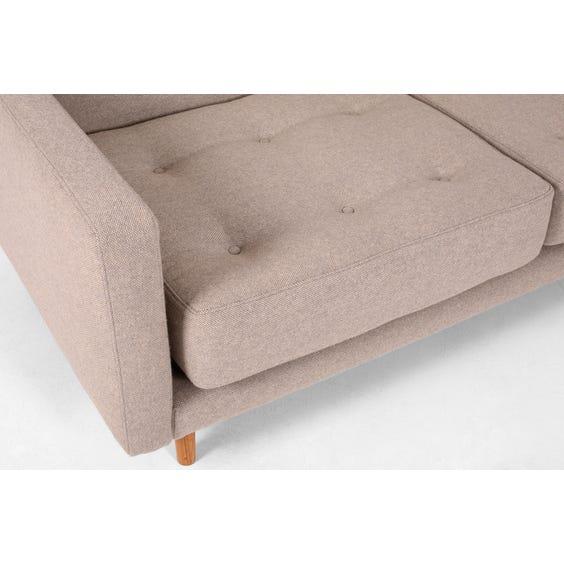 Grey modular corner sofa image